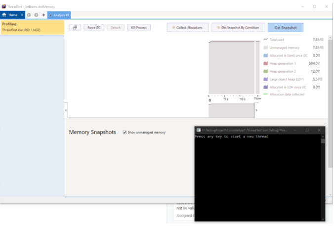 configuring to run a console application from local