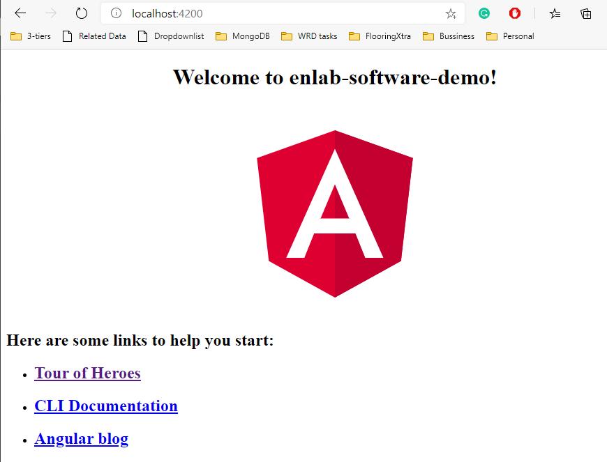Enlab software demo