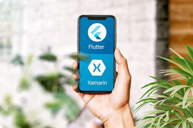 Service-Flutter-and-Xamarin-app-development