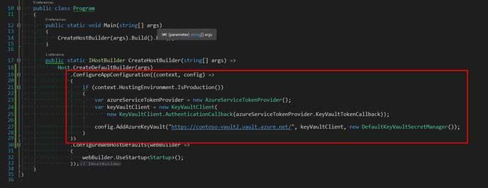 add configuration on the program.cs file