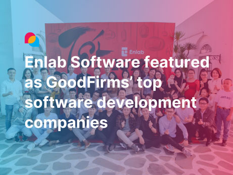Enlab Software featured as GoodFirms' top software development companies