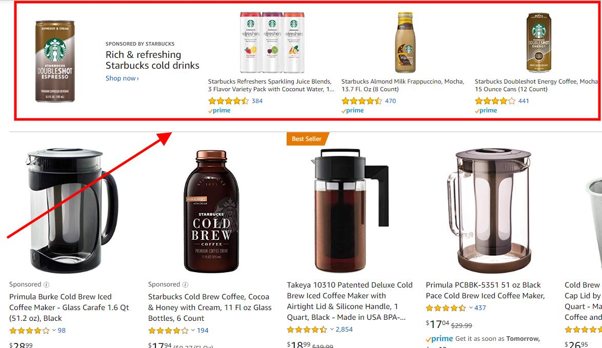 Advertising - Amazon Sponsored Brands