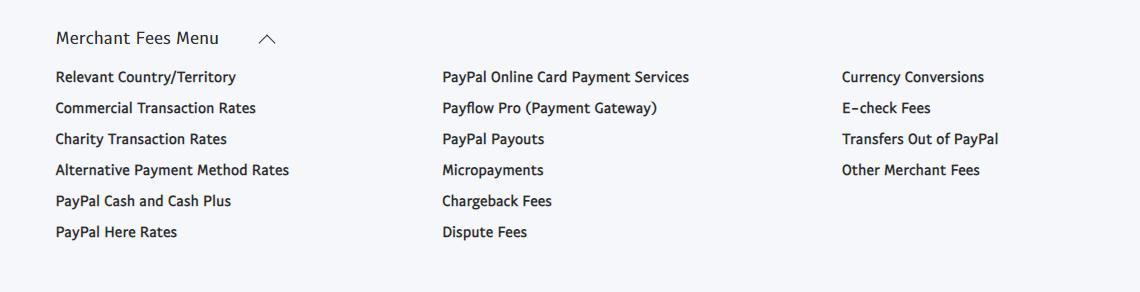 Case study Paypal consumer fees Marketplace platform