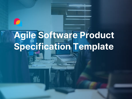 Agile Software Product Specification Template