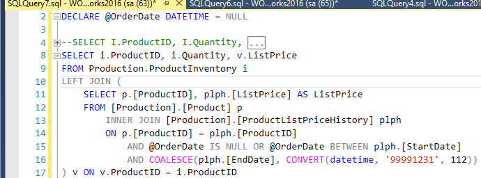 5. Client Statistic - Refactor query