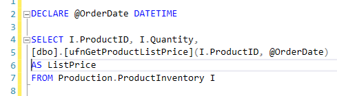 12. Inefficient - Using functions along with SELECT statements